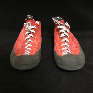 FIVE TEN 5.10 Rock Climbing Shoes Red Stealth C4